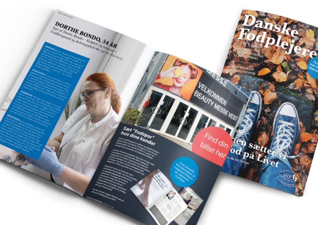 Sammenslutningen Af Danske Fodplejere magasin indhold
