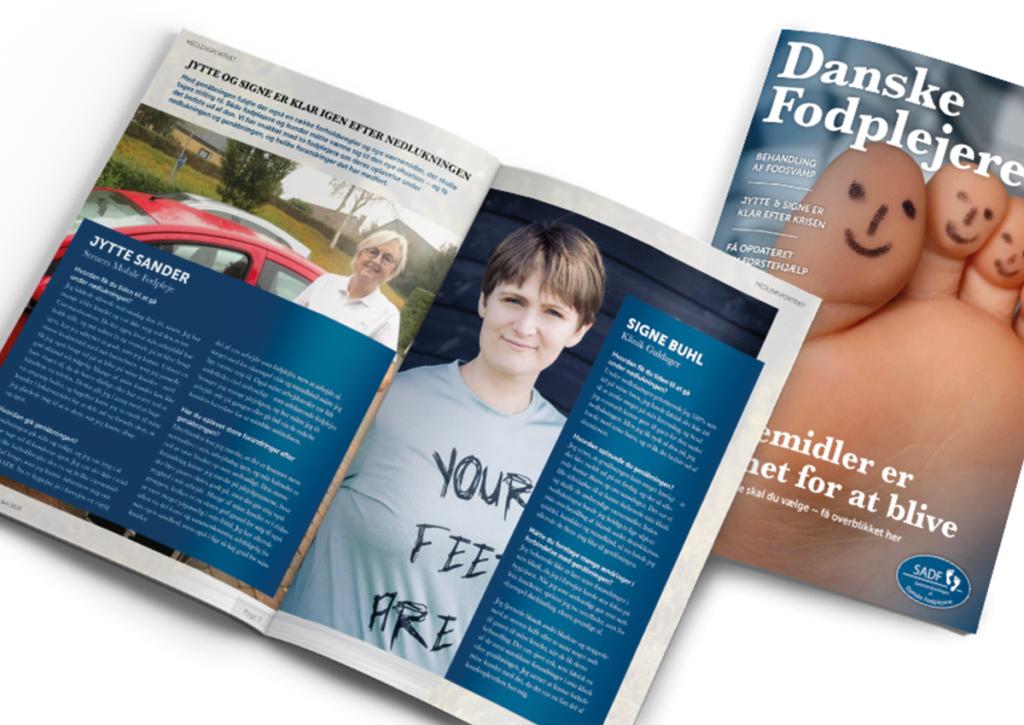 Sammenslutningen Af Danske Fodplejere magasin